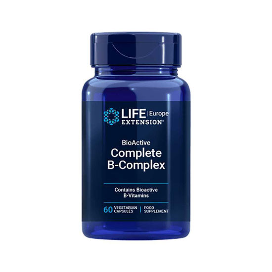 LifeExtension B kompleks v bioaktivni obliki, 60 kapsul