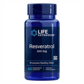 Slika LifeExtension 100 mg resveratrol, 60 kapsul