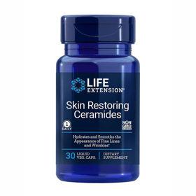 Slika LifeExtension Fitoceramidi za obnavljanje kože, 30 kapsul