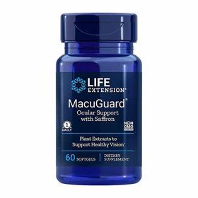 Slika LifeExtension MacuGuard podpora očem, 60 kapsul