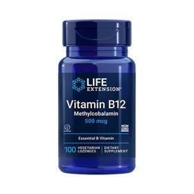 Slika LifeExtension B12 vitamin 500 mcg, 100 pastil