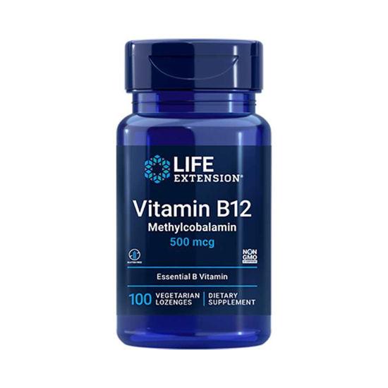 LifeExtension B12 vitamin 500 mcg, 100 pastil