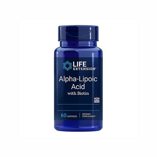 LifeExtension alfa lipoična kislina 250 mg, 60 kapsul
