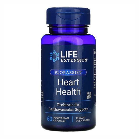 LifeExtension Florassist Heart Health, 60 vegetarijanskih kapsul