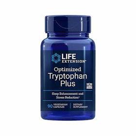 Slika LifeExtension Triptofan Plus - optimiziran, 90 vegetarianskih kapsul