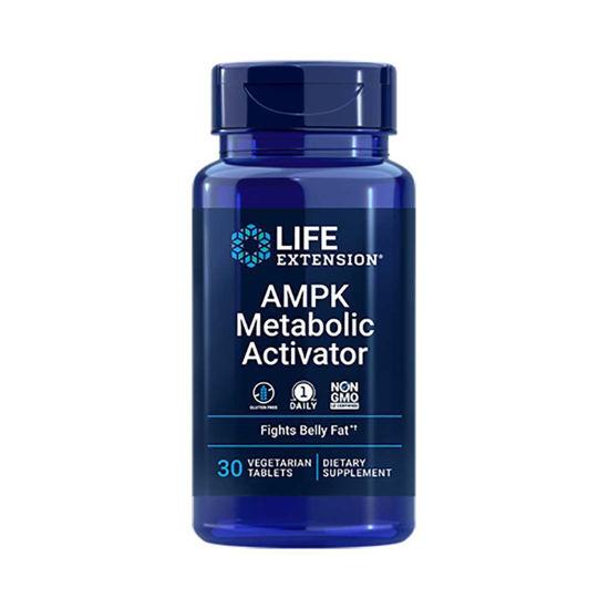 LifeExtension AMPK metabolični aktivator, 30 vegetarijanskih tablet