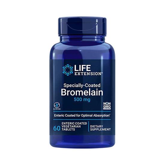 LifeExtension Bromelain 500 mg z enterično prevleko, 60 obloženih tablet
