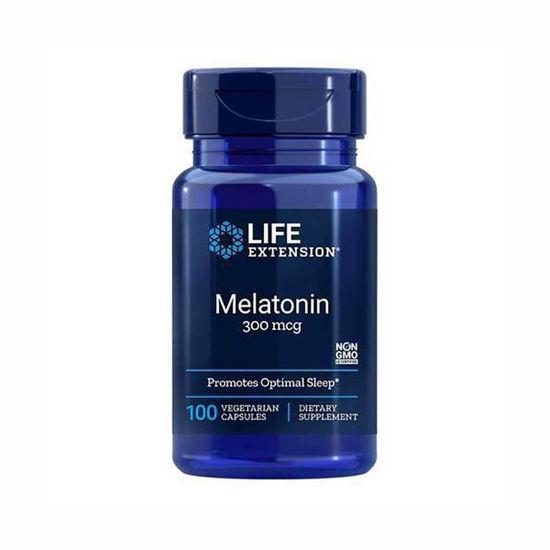 LifeExtension melatonin 300 mcg, 100 vegetarijanskih kapsul