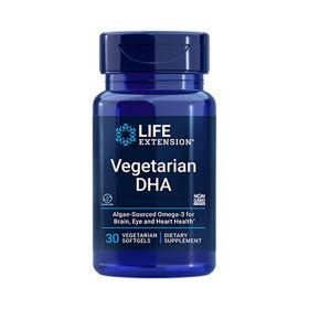 Slika LifeExtension vegetarianska DHK, 30 mehkih kapsul