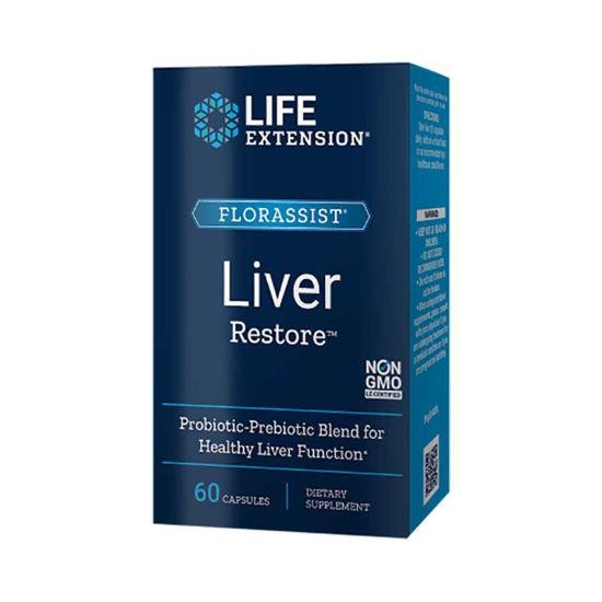 LifeExtension Florassist Liver restore za jetra, 60 kapsul