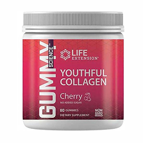 LifeExtension Youthful Collagen mladosten kolagen, 80 žvečilnih bonbonov