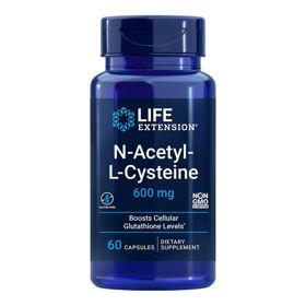 Slika LifeExtension N-Acetil L-Cistein, 60 vegetarijanskih kapsul