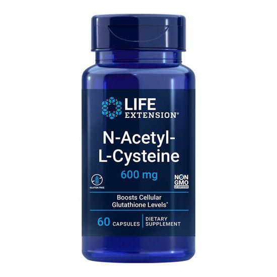LifeExtension N-Acetil L-Cistein, 60 vegetarijanskih kapsul