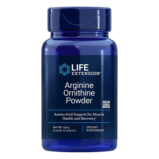 LifeExtension Arginin Ornitin prah, 150 g