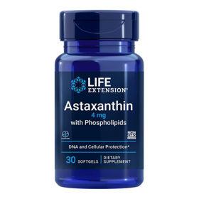 Slika LifeExtension Astaksantin s fosfolipidi, 30 mehkih kapsul