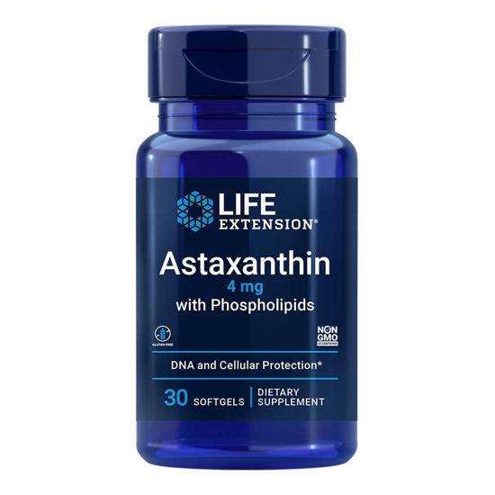 LifeExtension Astaksantin s fosfolipidi, 30 mehkih kapsul