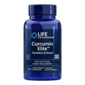 Slika LifeExtension Kurkumin Elite kurkuma izvleček, 60 vegetarijanskih kapsul