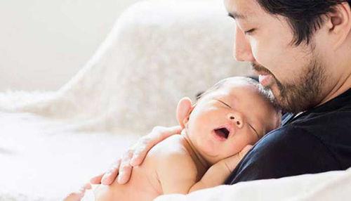 Porod vse bližje tudi bodočemu očetu!