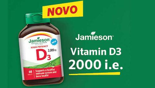 Društvo iz Kanade za boj proti raku svetuje Jamieson D3