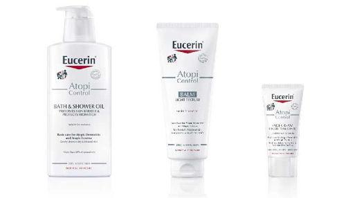 Eucerin AtopiControl linija - nova posebna nega za atopijska stanja kože!