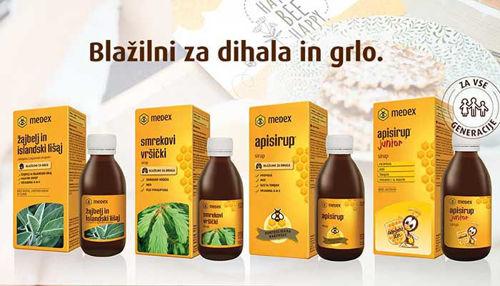 Za zdrava dihala in ohranjanje zdravih sluznic!
