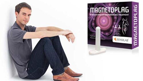 Hemoroidi in samopomoč z magnetno terapijo Magnetoplag