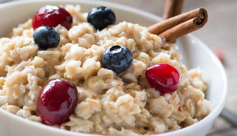 Picture of Priprava zdravega zajtrka z ovsenimi kosmiči