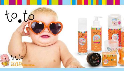 to.to kozmetika - darilo otroški koži!