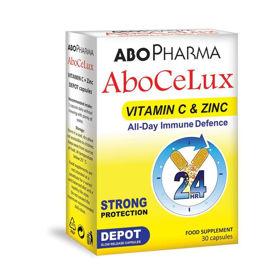 Slika AboCeLux Depot vitamin C + cink,  30 kapsul