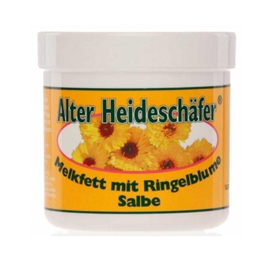 Alter Heideschafer ognjičevo mazilo z mlečno maščobo, 250 mL