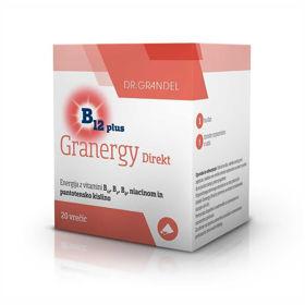 Slika Granergy Direkt B12 Plus Grandevita, 20 vrečk