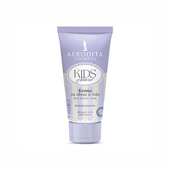 Afrodita Kids Natural krema za obraz & telo, 75 mL