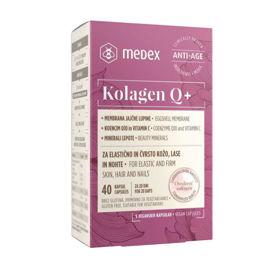 Slika Medex kolagen Q+ kapsule, 40 kapsul
