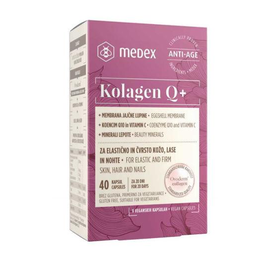Medex kolagen Q+ kapsule, 40 kapsul