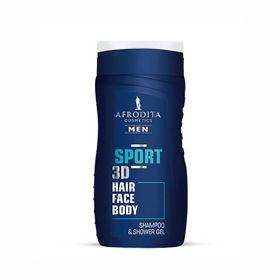 Slika Afrodita Men Sport gel za šamponiranje in prhanje, 250 mL