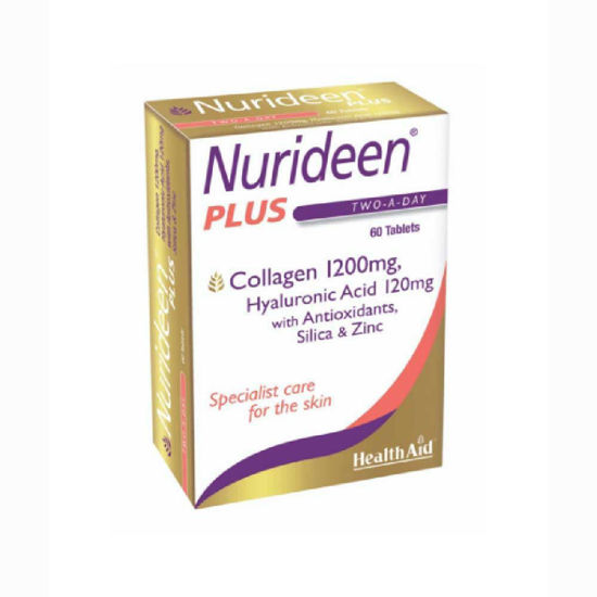 HealthAid Nurideen Plus kolagen, 60 tablet