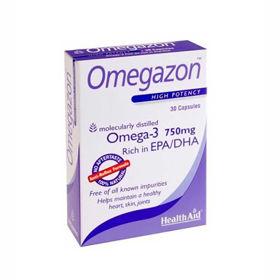 Slika HealthAid Omegazon Omega-3 maščobne kisline, 60 kapsul