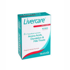 Slika HealthAid Livercare skrb za jetra, 60 tablet