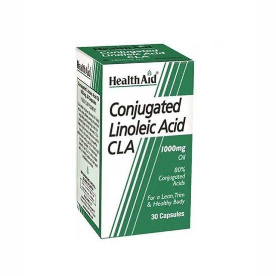 HealthAid CLA konjugirana linolna kislina 1000 mg, 30 kapsul