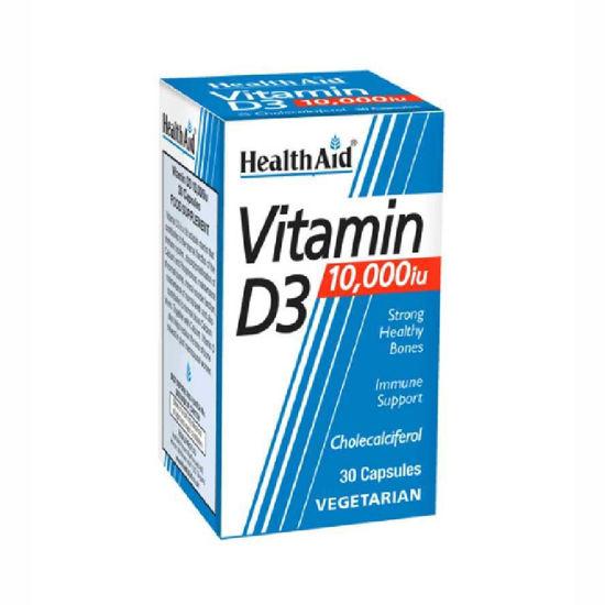 HealthAid vitamin D3 10.000 IU, 30 kapsul