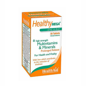 Slika HealthAid multivitamini Healthy Mega, 30 tablet
