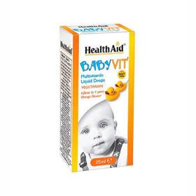 Slika HealthAid BabyVit multivitaminske kapljice, 25 mL