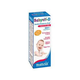 Slika HealthAid BabyVit-D kapljice, 50 mL
