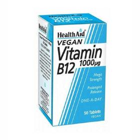 Slika HealthAid B12 vitamin 1000 µg, 60 tablet