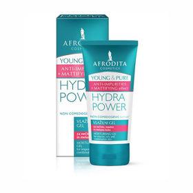 Slika Afrodita Young & Pure Hydra Power vlažilni gel, 50 mL