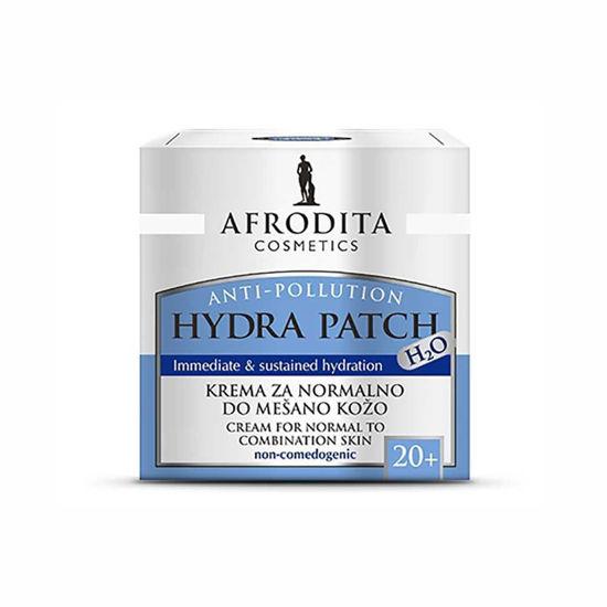 Afrodita Hydra Patch H2O krema za normalno do mešano kožo, 50 mL