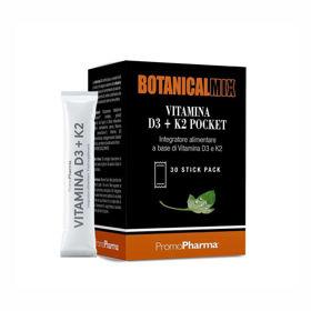 Slika BotanicalMix vitamin D3 + K2 vrečke, 30 x 1 g