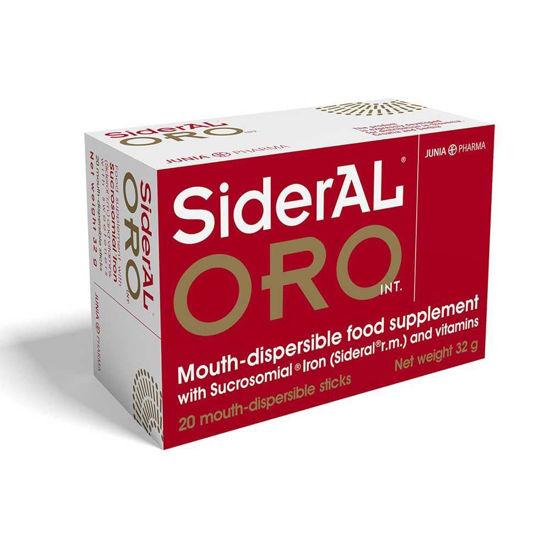 SiderAL ORO INT. železo + C vitamin, 20 vrečic