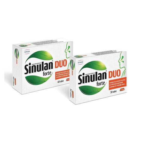 Sinulan Duo Forte, 30 tablet ali 60 tablet