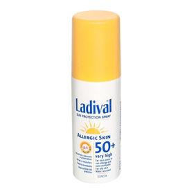 Slika Ladival pršilo za zaščito pred soncem za kožo nagnjeno k alergijam ZF 50, 150 mL